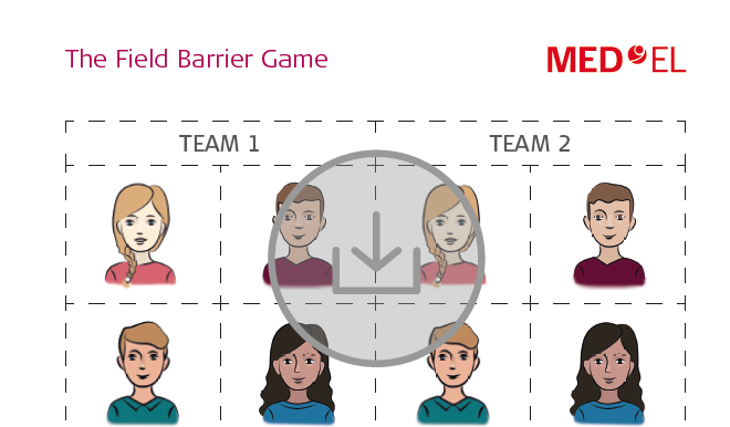 """The Field"" Barrier Game for Rehabilitation with a Cochlear Implant"