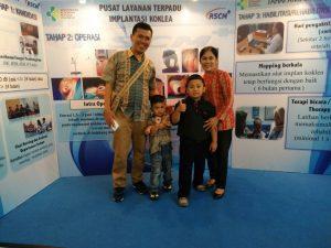 Samuel - implan rumah siput - Indonesia3