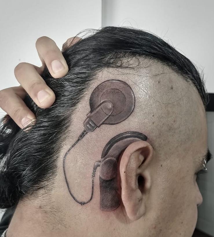 Tatuaje Implante Coclear