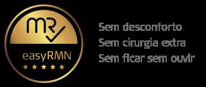 easy RMN Selo de ouro RMN - ressonância magnética. Sem desconforto; Sem cirurgia extra; Sem ficar sem ouvir