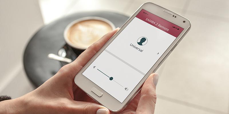SAMBA 2 Remote App