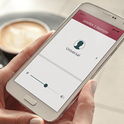 App SAMBA 2 Remote