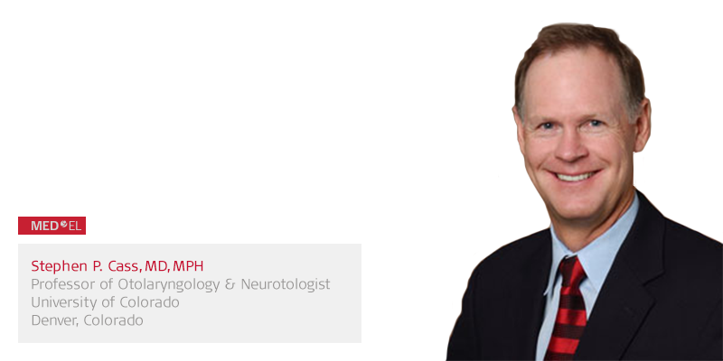 Dr. Stephen Cass: MRI with SYNCHRONY Cochlear Implant