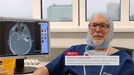 SYNCHRONY Cochlear Implant Case Study