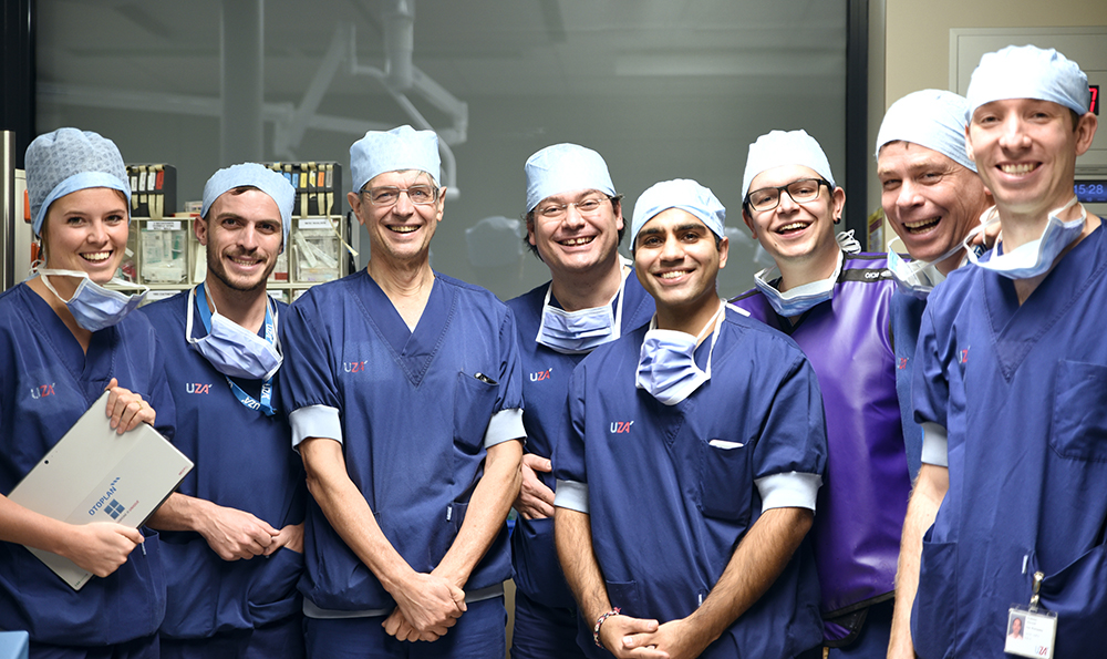 HEARO Surgical Team UZA Antwerp University Hospital